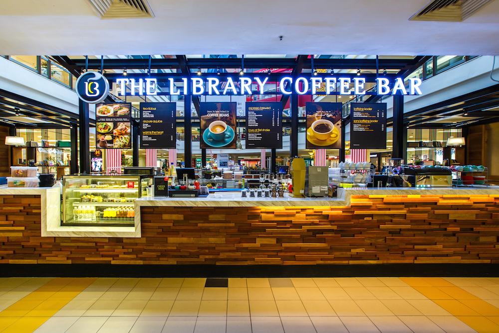 Library Coffee Bar One Utama