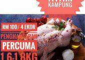 Jackie's Ayam Segar Halal Delivery Service