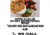 Nasi Kukus Ayam Berempah Izzulicious Food Delivery