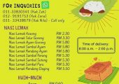 Nasi Lemak USJ4 (Depan Petronas) Delivery
