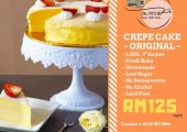De Posh Crepe Mille Cake Food Delivery
