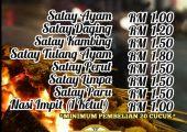 Sarah Satay Ampang Delivery