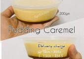 Syaliqin's Caramel  Pudding Delivery