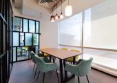 Private Dining Room at WSPACE Level 8 Coworking Space