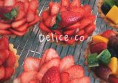 Delice.co Fruit Tart Delivery Service