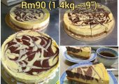 KC Bake Marble Cheese Cake Delivery Service