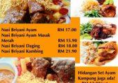 Sri Wangsa Biryani Food Delivery Service